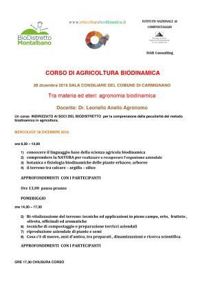 corso biodinamica