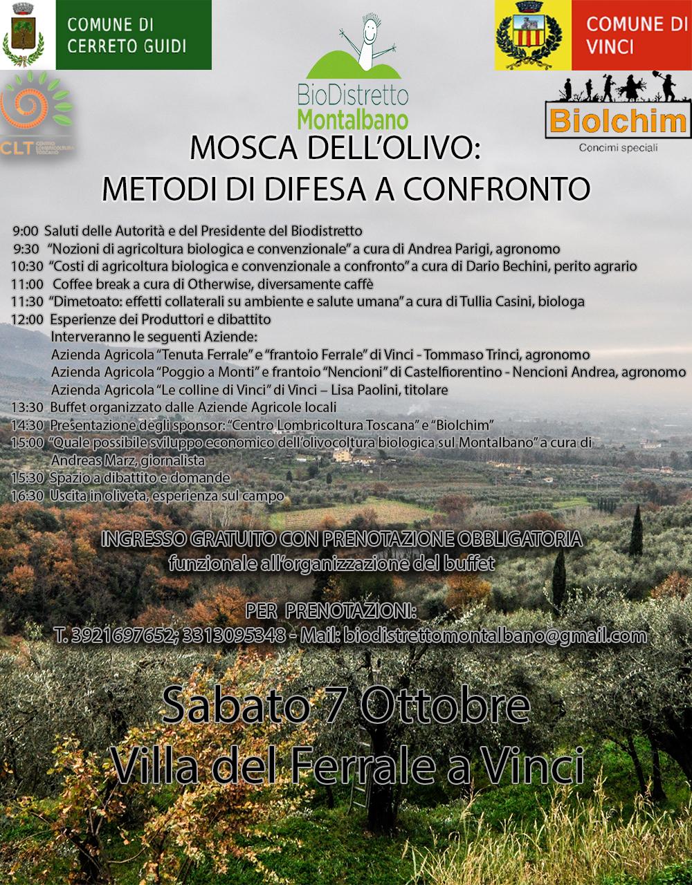 Calendario Dei Trattamenti Dellolivo.Mosca Dell Olivo Metodi Di Difesa A Confronto Bio